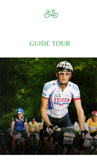 guided cycling holidays italy